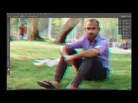 how to create 3d images in photoshop