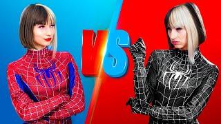 Bad vs Good Superhero / 11 Funny Situation