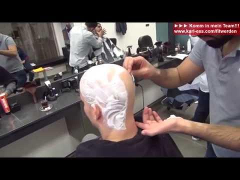Haarausfall - welche Mittel helfen wirklich + Glatze rasieren auf Cam - KARL-ESS.COM