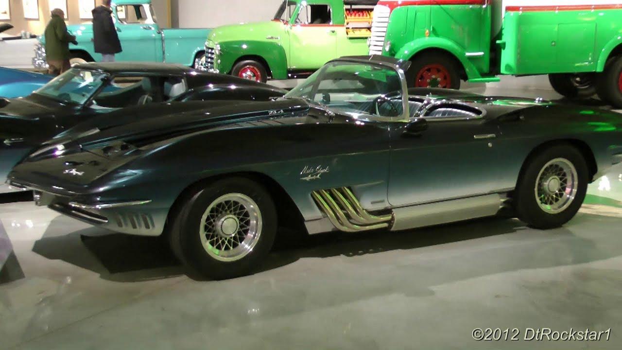 GM Concepts Corvette Mako Shark YouTube