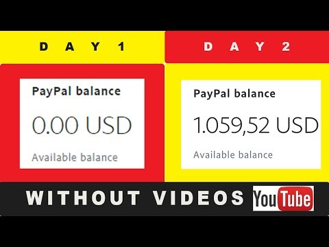 How To Make $1,059.52 On Youtube Without Making Videos 2019