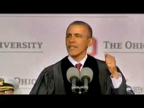 Obama Tells Ohio State Students That Tyranny Doesn't Exist in Government 05/05/2013