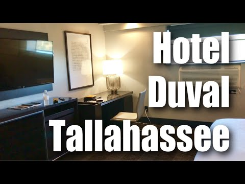 Hotel Duval, an Autograph Collection Hotel, in downtown Tallahassee, Florida