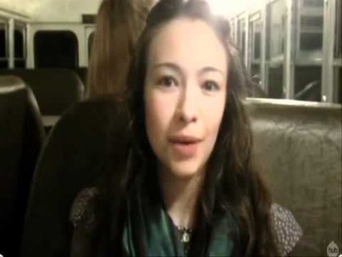 Jodelle Ferland -The Haunting Hour - My Sister Witch Behind Scenes