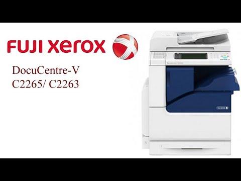 Fuji Xerox DocuCentre V C2263, C2265, How To Install Driver Priver