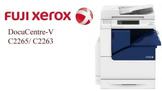 xerox-c2265 suggestion