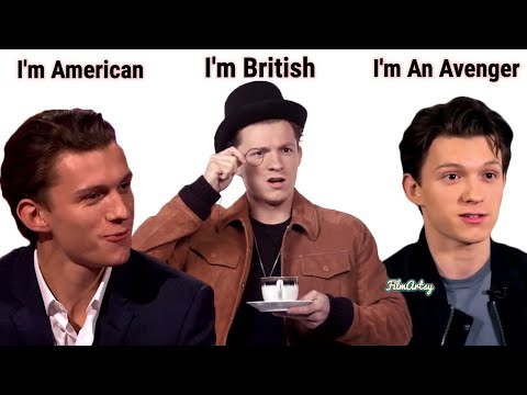 Tom Holland Funnily Changing Accents | British Accent to American Accent | Spider-Man 2020