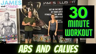 Abs and Calves Workout || High Intensity Interval Training || Fat Burning and Toning || Six Pack