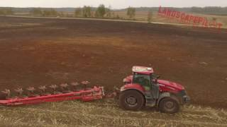 kukurydza orka case ih magnum 340 kverneland