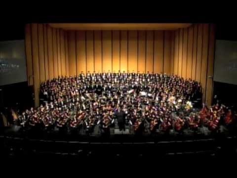 2013 TMEA Combined All-State Mixed Choir, Symphonic Band and Symphony Orchestra