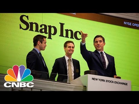 Snap Shares Bring Out The Bears | Trading Nation | CNBC