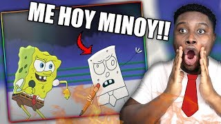 Download SPONGEBOB TEAMS UP WITH DOODLEBOB!   Spongebob vs Deadpool - Cartoon Beatbox Battles Reaction!