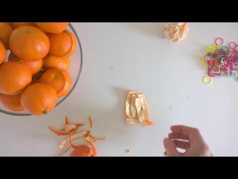 diered orange peel