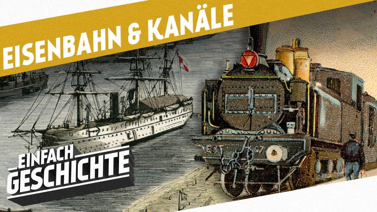 Eisenbahn Industrielle Revolution