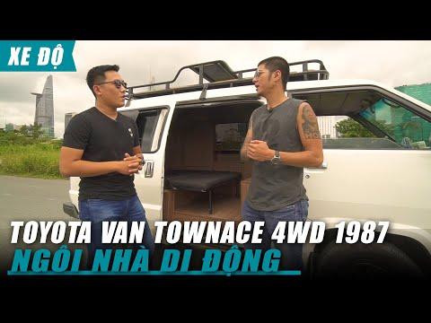 """Biến Xe hơi """"đồng nát"""" TOYOTA VAN TownACE 4WD 1987 thành Ngôi nhà Di động đi khắp Việt Nam"""