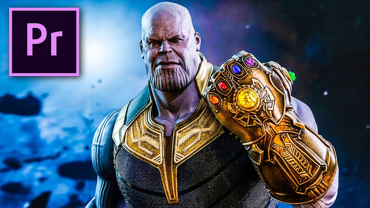 Thanos Super Punch Infinity War In Premiere Pro Youtube