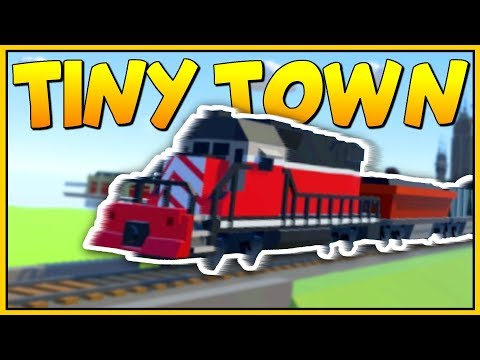 BUILDING THE BEST VR RAILWAY! AWESOME TRAINS - Tiny Town VR Gameplay - VR HTC Vive