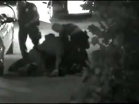 Security footage of Kelly Thomas police beating death