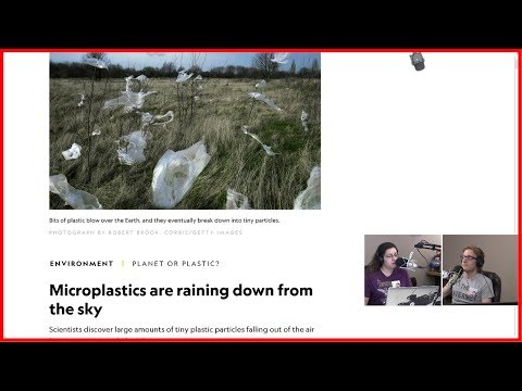 Microplastics Raining From Sky – HTS 17.6