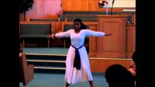 SJBC Praise Dance Ministry ~ Tira Alexander~ (You Paid It All by Wess Morgan)
