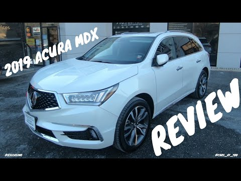 2019 ACURA MDX REVIEW -- BETTER THAN HONDA PILOT !?
