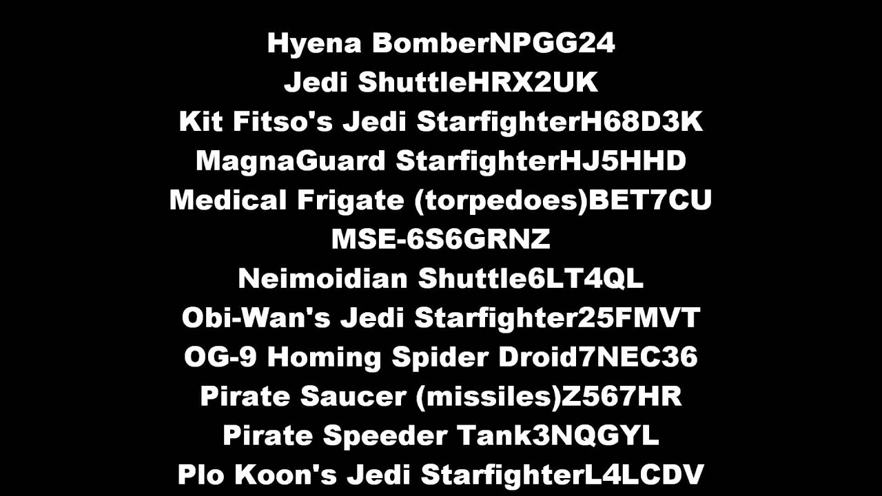 Lego star wars iii the clone wars vehicle info - Lego Star Wars 3 Cheats For All Vehicles Extreme Gaming Episode 63