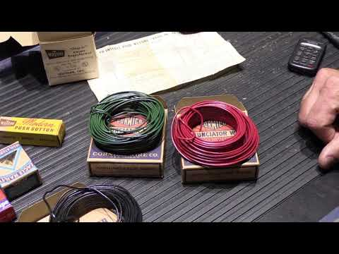 Vintage Unboxing of a NuTone WK100 Chime Installation Kit - circa 1950