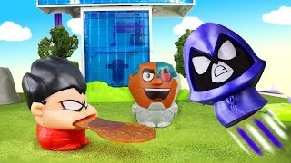 TEEN TITANS GO! New Kids Meal Toys and Face Swappers with Top 10 Teen Titans Go Kids Meal Toys