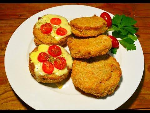 Receta vegetariana NUGGETS de calabaza