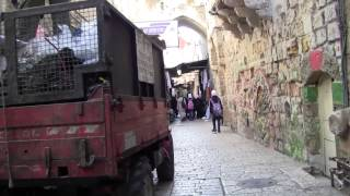 Old Jerusalem: Walking from Damascus Gate to the Western Wall