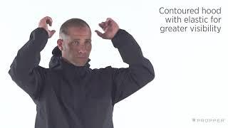 Propper Packable Jacket - 100% Nylon Waterproof Outerwear