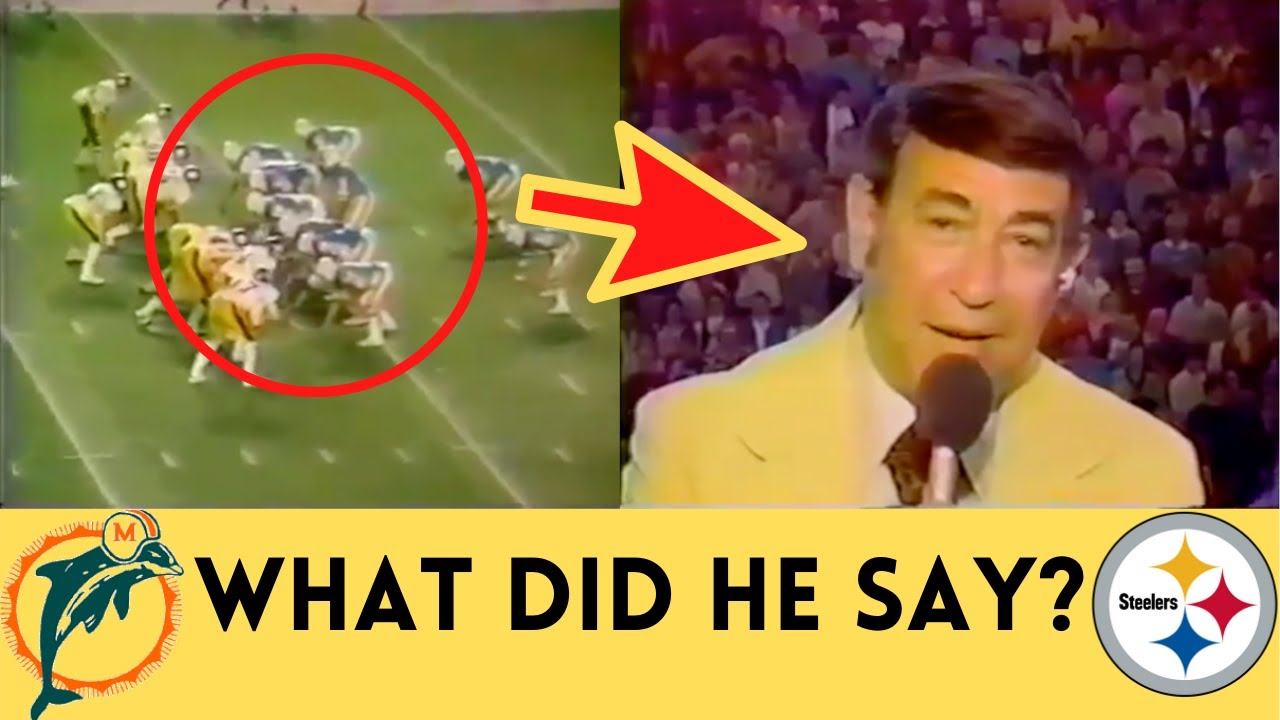 Download The DUMBEST Moment in Monday Night Football HISTORY | Steelers @ Dolphins (1973)