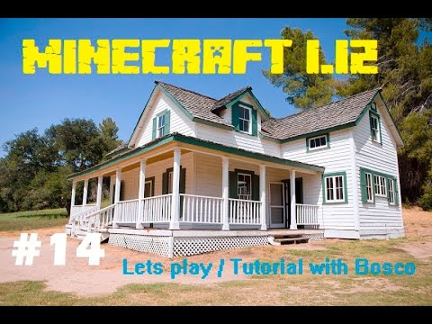 Minecraft 1 12 14 Schrute Farms House Exterior Structure Complete Youtube