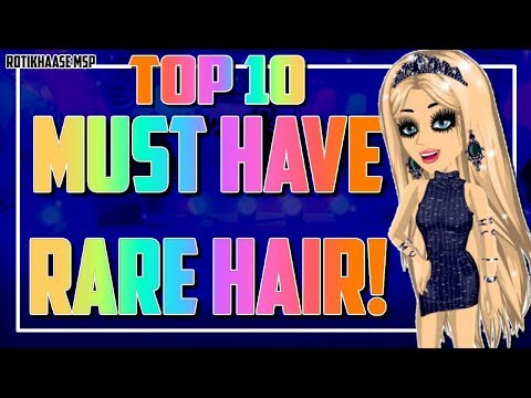 Best Rare Hairs On MSP *TOP 10*