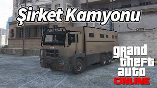 GTA 5 Online - Şirketi Kurduk Zırhlı Kamyonla Mal Taşıyoruz!