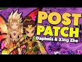 XING ZHE & DAPHNIS POST-PATCH TEST DAY   SUMMONERS WAR