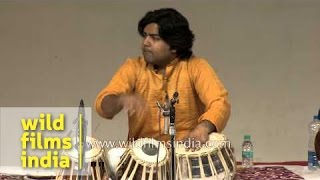 Hafeez Ahmed Alvi (Tabla) with Manohar Balatchandirane (Percussion) live in Delhi