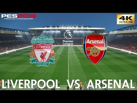 PES 2019 (PC) Liverpool vs Arsenal | PREMIER LEAGUE MATCH PREVIEW | 29/12/2018| 4K 60FPS