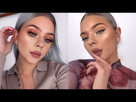 MY 2 EVERYDAY WINTER MAKEUP ROUTINES!!