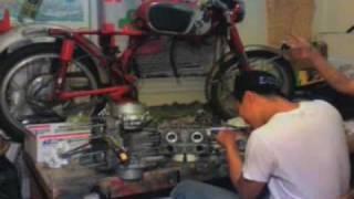 1965 Honda Cb160 rebuild