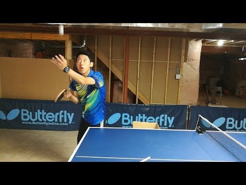 Decoding Ma Lin's ghost serve   ---   TOMORROW TABLE TENNIS