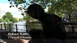 Crystal Castles 2008 Interview in Amsterdam