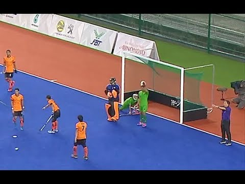Malaysia 14 Beat Myanmar 0. Final mens hockey SEA Games 2017