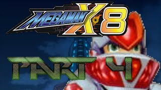 The Lightning Rod - Mega Man X8 - Playthrough - Part 4 - No! Not THIS Level!