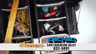 DECKED featured in California Truck Accessories commercial