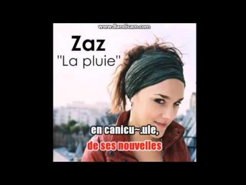 KARAOKE ZAZ- La Pluie