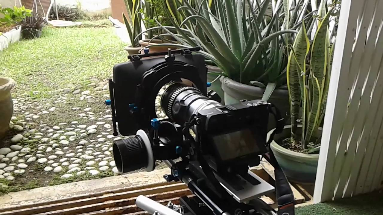 Sony A6000 with Kowa Anamorphic