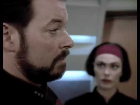 tng ro is upset with riker the next phase youtube