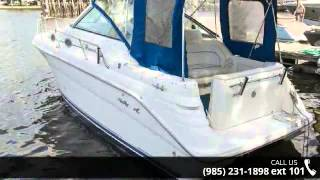 1996 Sea Ray 270 Sundancer Sports Cruisers - Nunmaker Boa...