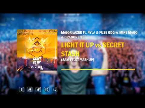 Light It Up vs Secret Stash (Sam Feldt Mashup)